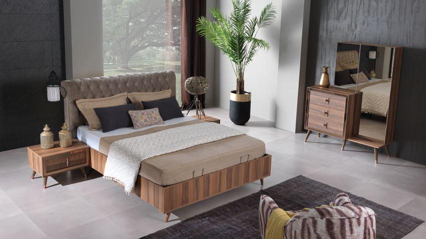 Toprak Ceviz Yatak Odası